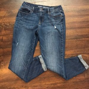 Curvy mid rise jeans Old Navy